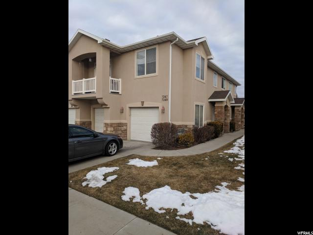 Condominium for Sale at 7247 BRITTANY TOWN Drive 7247 BRITTANY TOWN Drive West Jordan, Utah 84084 United States