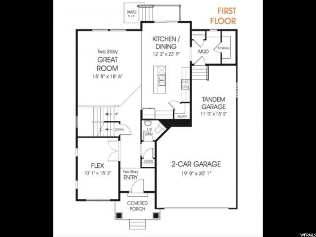 14863 S MCKENNA RD Unit 315 Bluffdale, UT 84065 - MLS #: 1502852