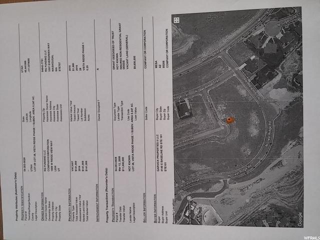 1889 W RIDGE VIEW RIDGE VIEW Lehi, UT 84043 - MLS #: 1503162