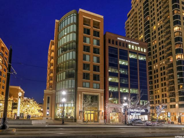 Home for sale at 55 W South Temple St #204, Salt Lake City, UT 84101. Listed at 568000 with 1 bedrooms, 1 bathrooms and 1,131 total square feet