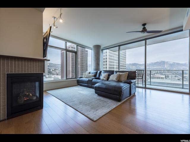 Home for sale at 35 E 100 South #1303, Salt Lake City, UT 84111. Listed at 849000 with 2 bedrooms, 2 bathrooms and 1,360 total square feet