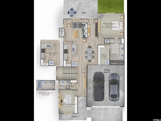 14257 S BELLA VEA DR Unit 54 Herriman, UT 84096 - MLS #: 1503476