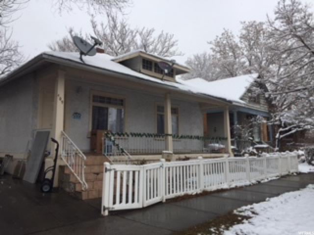 Home for sale at 409 E 800 South, Salt Lake City, UT  84111. Listed at 275000 with 3 bedrooms, 2 bathrooms and 1,826 total square feet