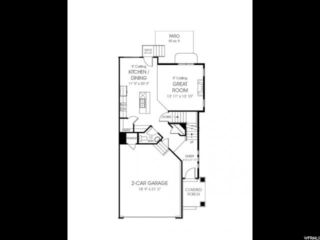 4378 W BRONSON LN Unit 54 Herriman, UT 84096 - MLS #: 1504142