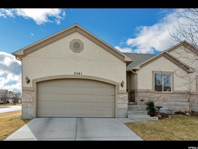 Twin Home for Sale at 5561 W SAGE PEAK Drive 5561 W SAGE PEAK Drive Herriman, Utah 84096 United States