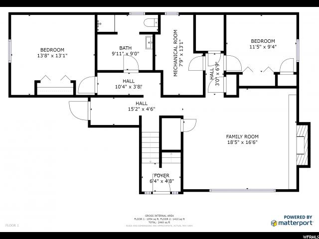 1537 E NICHOLLS RD Fruit Heights, UT 84037 - MLS #: 1504587