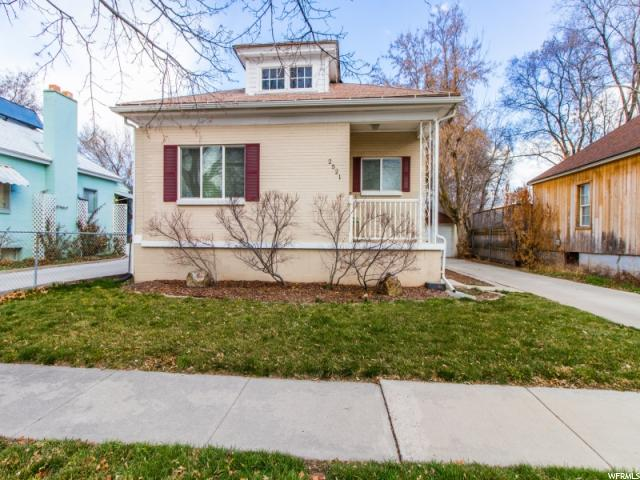 2521 PARK ST Salt Lake City, UT 84106 - MLS #: 1505056