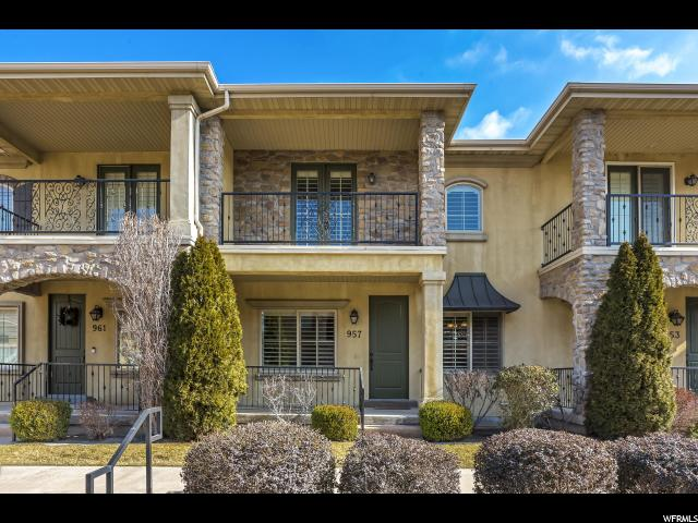 Townhouse for Sale at 957 N 920 W 957 N 920 W Orem, Utah 84057 United States