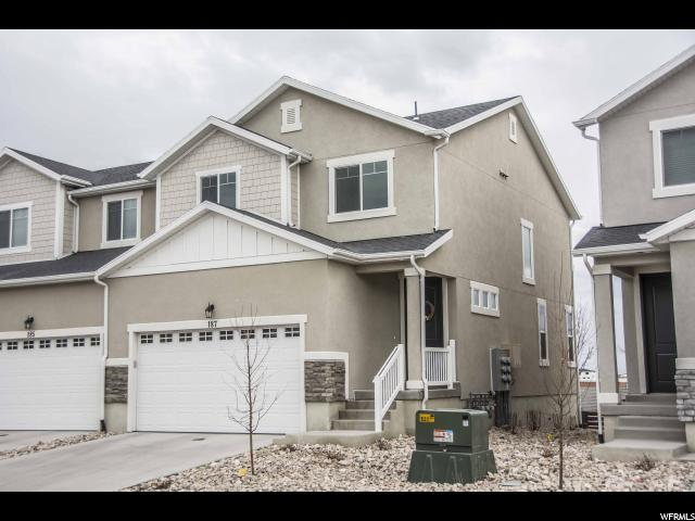 Townhouse for Sale at 187 W WHITEWATER Drive 187 W WHITEWATER Drive Vineyard, Utah 84058 United States