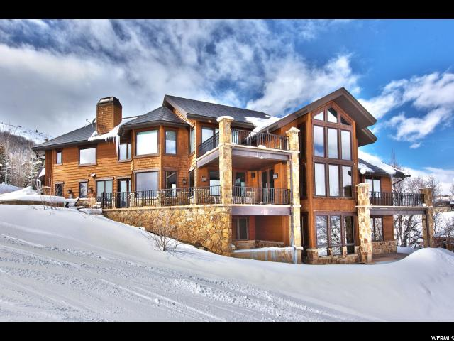 Single Family for Sale at 3127 W DEER CREST ESTATES Drive 3127 W DEER CREST ESTATES Drive Park City, Utah 84060 United States