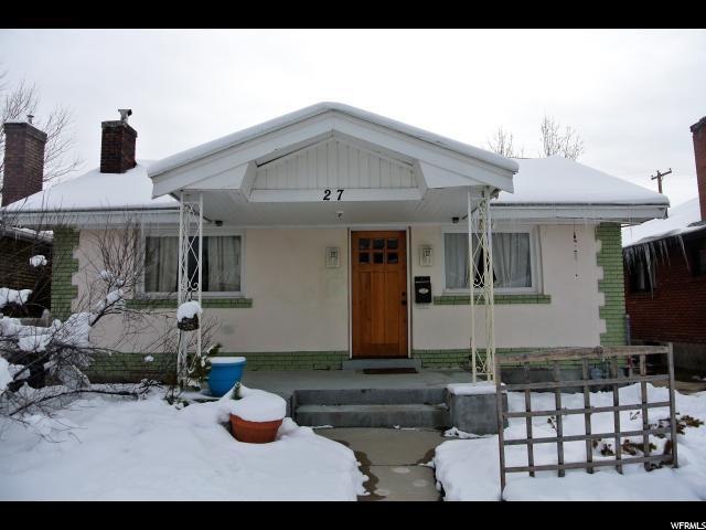 27 W HARTWELL AVE, Salt Lake City UT 84115