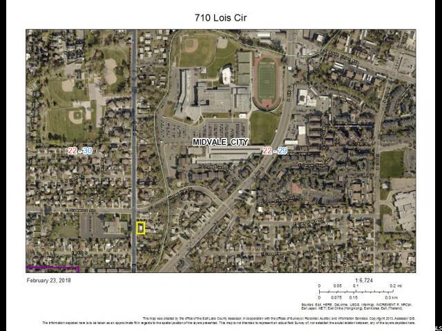 710 E LOIS CIR Midvale, UT 84047 - MLS #: 1506792