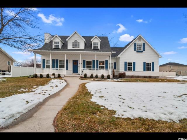 单亲家庭 为 销售 在 3803 S 250 W 3803 S 250 W 尼布利, 犹他州 84321 美国