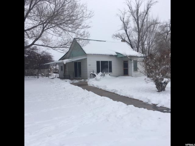 Один семья для того Продажа на 235 W CANYON Street 235 W CANYON Street Randolph, Юта 84064 Соединенные Штаты