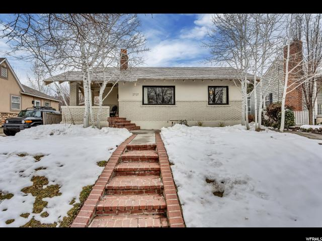 Home for sale at 2737 S Chadwick St, Salt Lake City, UT  84106. Listed at 379900 with 3 bedrooms, 2 bathrooms and 1,633 total square feet