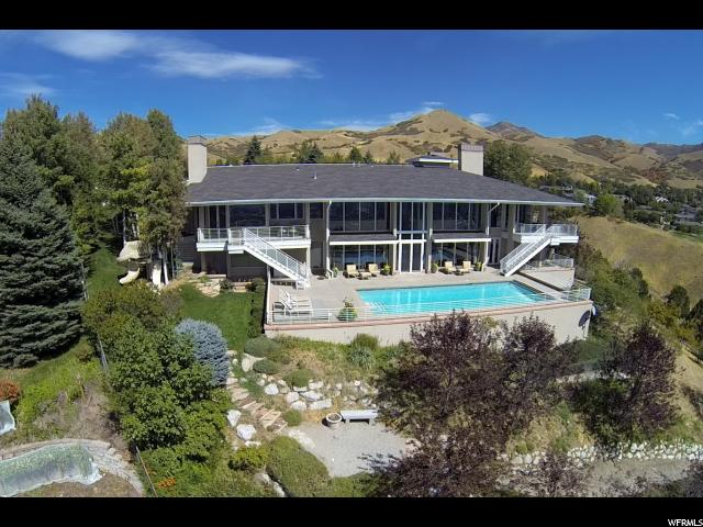 Home for sale at 662 N Saddle Hill Rd, Salt Lake City, UT  84103. Listed at 3875000 with 5 bedrooms, 9 bathrooms and 9,259 total square feet