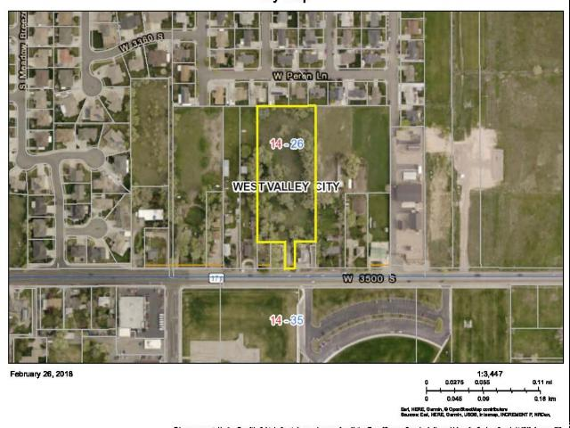 Land for Sale at 5922 W 3500 S 5922 W 3500 S West Valley City, Utah 84128 United States