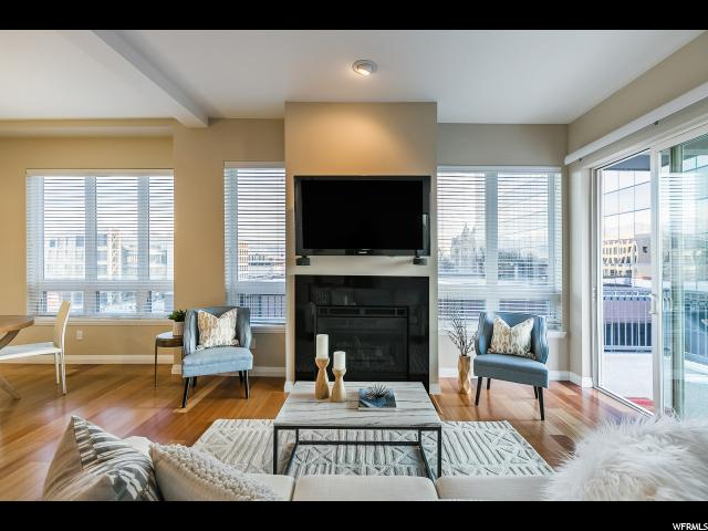 Home for sale at 350 S 200 East #521, Salt Lake City, UT 84111. Listed at 425000 with 2 bedrooms, 2 bathrooms and 1,147 total square feet