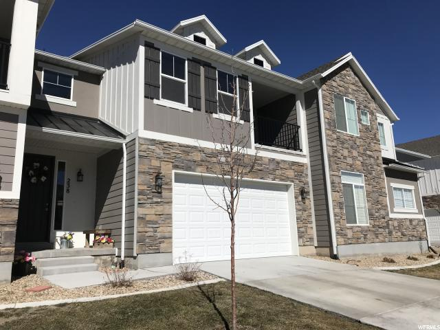 Townhouse for Sale at 238 E CORDOBA Drive 238 E CORDOBA Drive Saratoga Springs, Utah 84045 United States