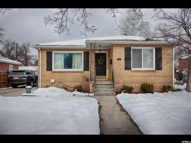 Single Family for Sale at 2169 E WILSON Avenue 2169 E WILSON Avenue Salt Lake City, Utah 84108 United States