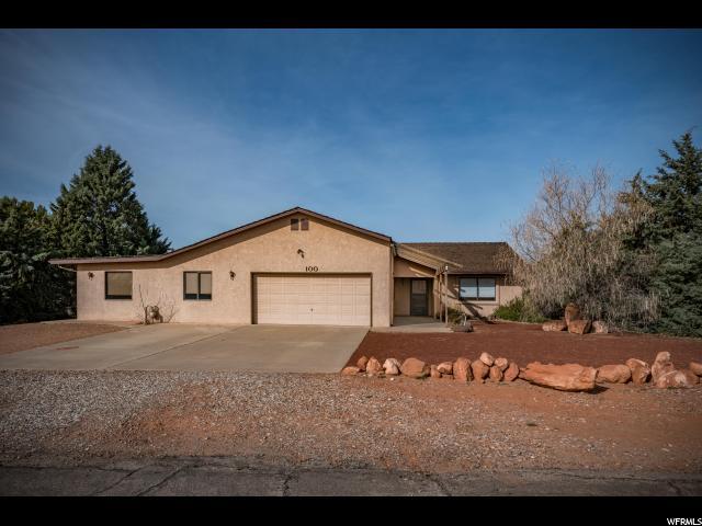 Unique la famille pour l Vente à 100 S FELIZ Drive 100 S FELIZ Drive Ivins, Utah 84738 États-Unis