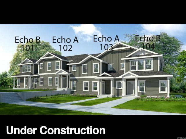 Townhouse for Sale at 5047 N MARBLE FOX WAY 5047 N MARBLE FOX WAY Unit: 103 Lehi, Utah 84043 United States