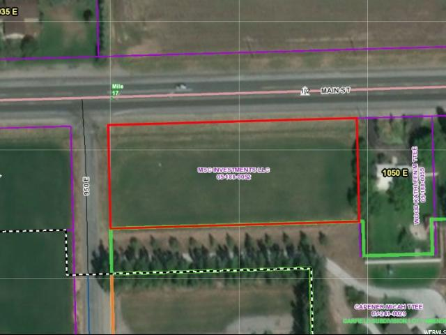 Land for Sale at 1000 E MAIN 1000 E MAIN Tremonton, Utah 84337 United States