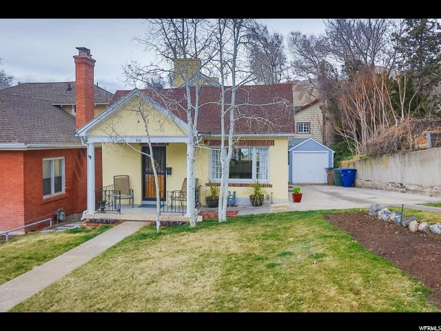 Home for sale at 66 W Zane Ave, Salt Lake City, UT 84103. Listed at 450000 with 3 bedrooms, 2 bathrooms and 1,932 total square feet