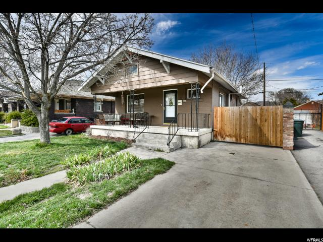 Home for sale at 445 E Sherman Ave, Salt Lake City, UT  84115. Listed at 299900 with 3 bedrooms, 1 bathrooms and 1,214 total square feet