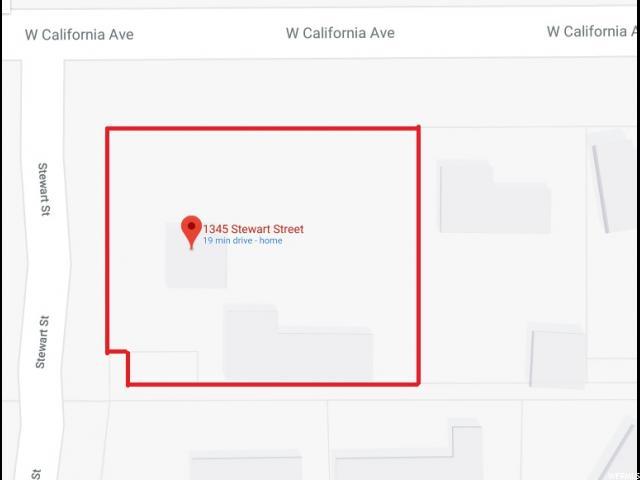 1345 S STEWART ST Salt Lake City, UT 84104 - MLS #: 1511787