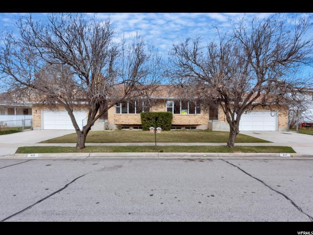 Duplex for Sale at 645 E 647 LARCHWOOD Drive 645 E 647 LARCHWOOD Drive Midvale, Utah 84047 United States