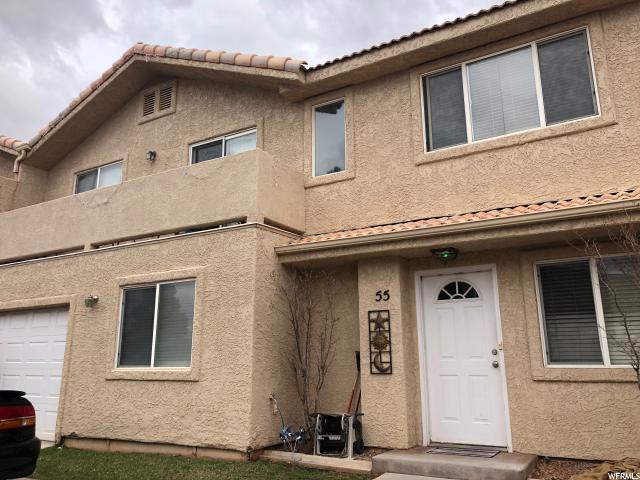 Casa unifamiliar adosada (Townhouse) por un Venta en 781 N VALLEY VIEW Drive 781 N VALLEY VIEW Drive Unit: 55 St. George, Utah 84770 Estados Unidos