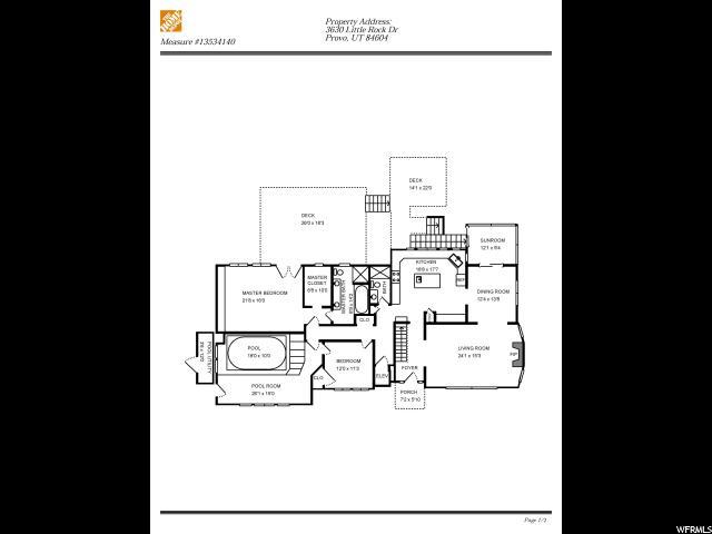 3630 LITTLE ROCK DR Provo, UT 84604 - MLS #: 1515419