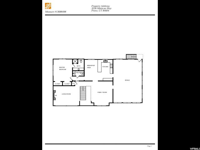 3256 MOHICAN WAY Provo, UT 84604 - MLS #: 1515736