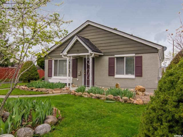 Home for sale at 937 E Garden Dr, Holladay, UT  84124. Listed at 365000 with 3 bedrooms, 2 bathrooms and 1,339 total square feet