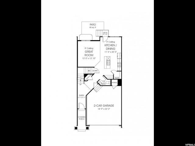 4327 W BURWELL LN Unit 72 Herriman, UT 84096 - MLS #: 1518817