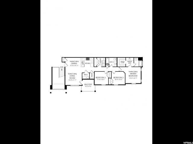 3696 W 1850 Unit Q302 Lehi, UT 84043 - MLS #: 1518827