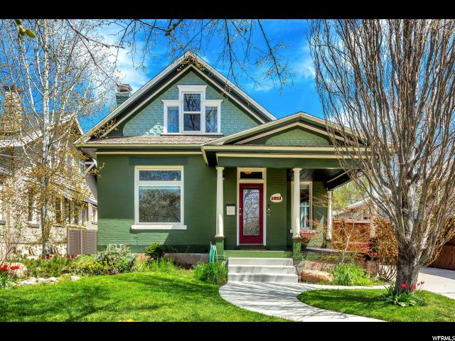 Home for sale at 1211 S 800 East, Salt Lake City, UT 84105. Listed at 550000 with 4 bedrooms, 2 bathrooms and 2,108 total square feet
