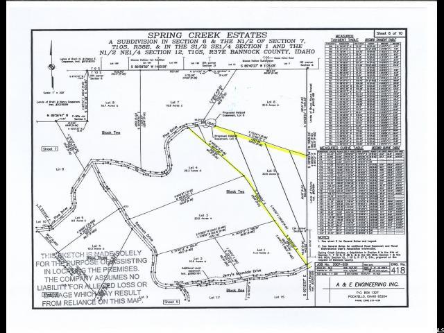 Lava Hot Springs Idaho 83246 Land For Sale