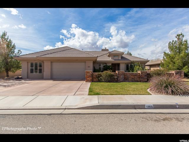 MLS #1523686 for sale - listed by Bob Richards, Keller Williams Realty St George (Success)