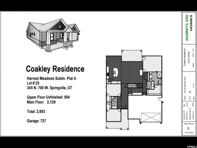 345 N 700 Springville, UT 84663 - MLS #: 1524193