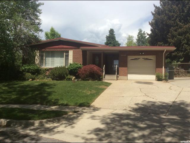 2249 E BRYAN CIRCLE CIR Salt Lake City, UT 84108 - MLS #: 1525092