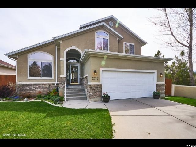 Home for sale at 3717 S Europa Dr, Millcreek, UT 84106. Listed at 450000 with 4 bedrooms, 4 bathrooms and 2,117 total square feet