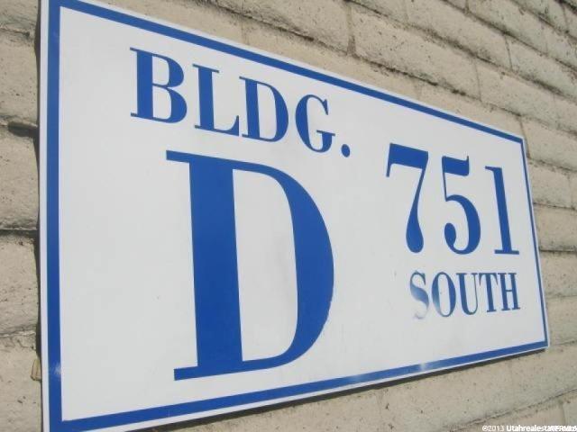 751 S 300 Unit D202 Salt Lake City, UT 84111 - MLS #: 1528016