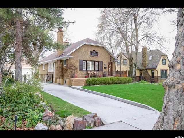 1332 E LAIRD AVE Salt Lake City, UT 84105 - MLS #: 1530889