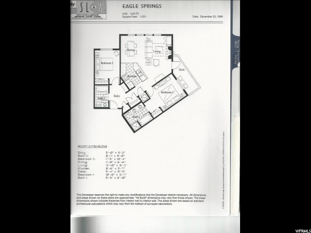 12082 E BIG COTTONWOOD CANYON RD Unit 106 Solitude, UT 84121 - MLS #: 1532140