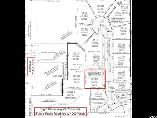 3852 S EAGLE GLENN CIR West Valley City, UT 84120 - MLS #: 1533419