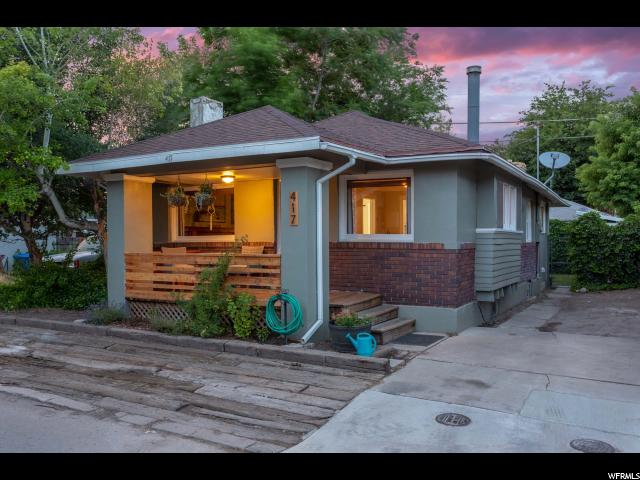 Home for sale at 417 E Logan Ave, Salt Lake City, UT  84115. Listed at 275000 with 2 bedrooms, 1 bathrooms and 1,351 total square feet