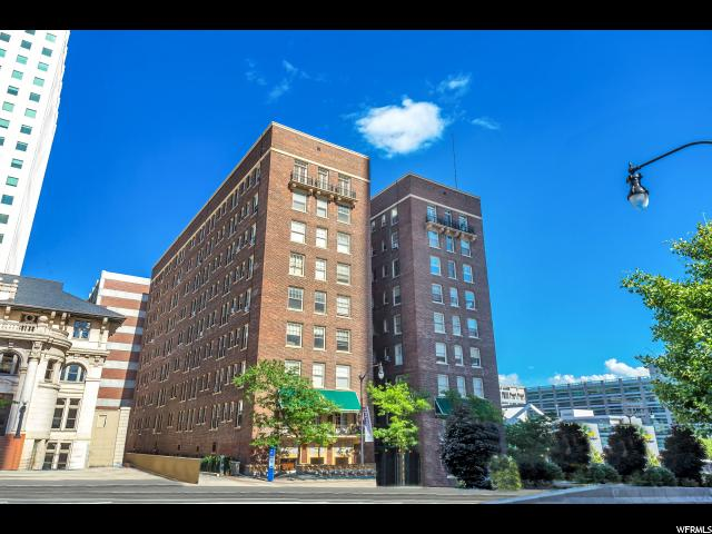 Home for sale at 29 S State St #605, Salt Lake City, UT 84111. Listed at 205000 with 1 bedrooms, 1 bathrooms and 553 total square feet
