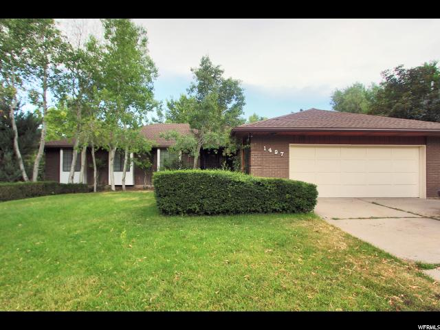 1497 E FEDERAL HEIGHTS, Salt Lake City UT 84103